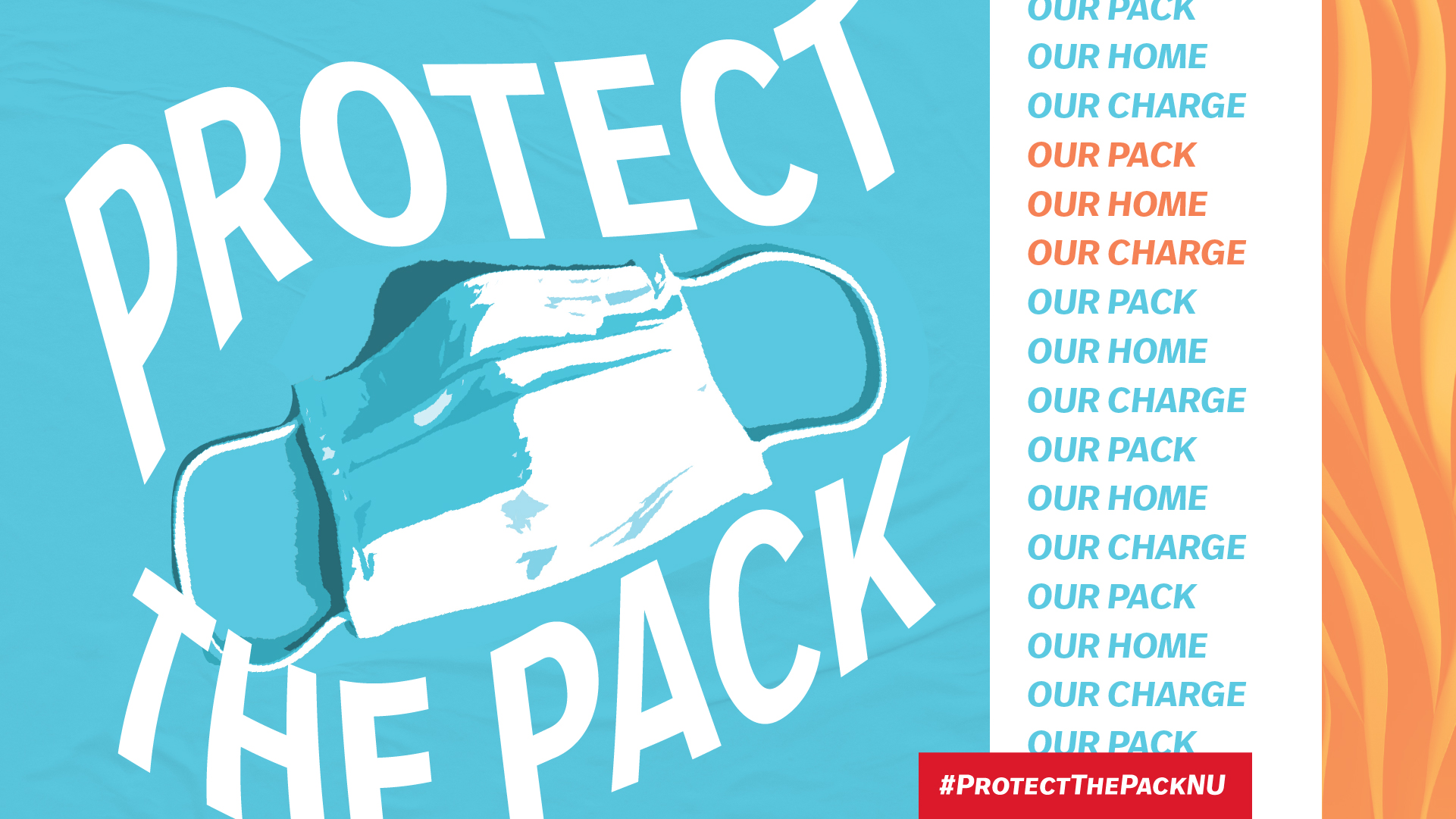 graphic saying protect the pack and lead on