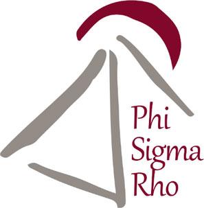 Phi Sigma Rho logo