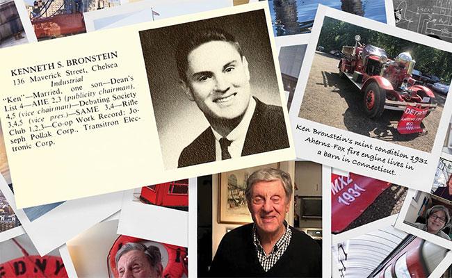 photo collage of alumnus' life experiences