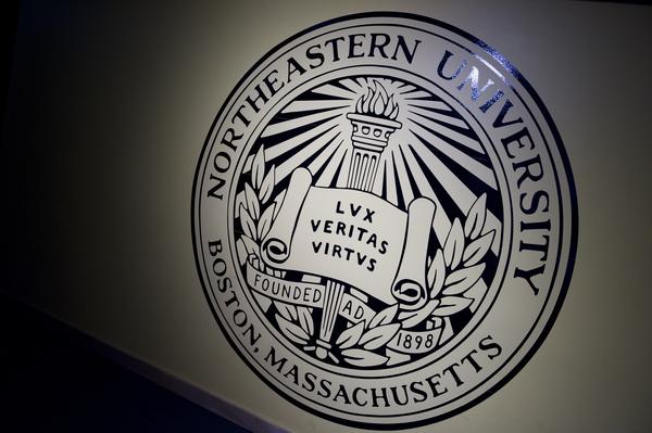 northeastern seal logo