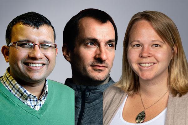 Ameet Pinto, Aron Stubbins, and Kelsey Pieper