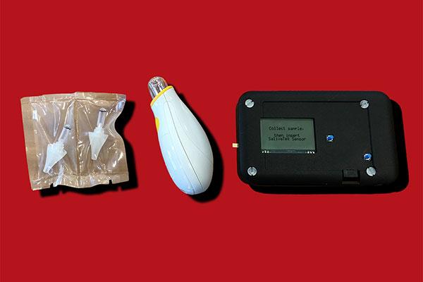 components of a biosensor diabetes device
