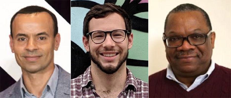 Sidi A. Bencherif, Zach Rogers, James Sherley