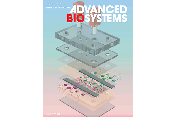 cover of Advanced BioSystems journal