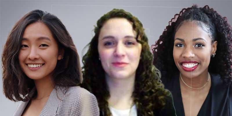 Emily Man, Valeria Martinuzzi, Gabrielle Whittle