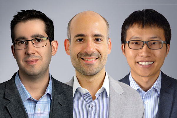 ECE Associate Professor Josep Jornet (PI), Professor Matteo Rinaldi, and Assistant Professor Hui Fang