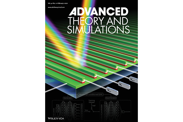 cover of publication Advanced Theory and Simulations