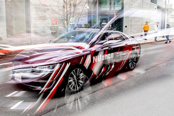 NU autonomous car