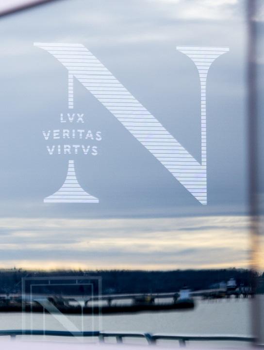 Northeastern N logo