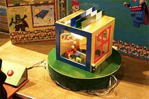model solar building
